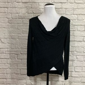 INC International Concepts Crossover Top Cowl Neck